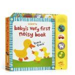 顺丰发货 英文原版 Baby's Very First Noisy Book 宝宝发声书 幼儿启蒙认知绘本 拟声词 亲
