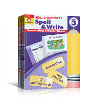 英文原版 美国加州教材Skill Sharpeners Spell & Write, Grade 4册 小学生英文学习