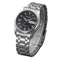手表男士不锈钢商务石英表防水夜光商务职场非光度手表
