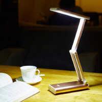 KM-6681 LED台灯护眼学习工作阅读小学生儿童办公触摸折叠灯