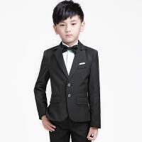 小孩宝宝小西服花童礼服男男童钢琴演出服儿童西装套装三件套