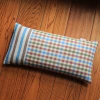 颈椎枕头单人护颈枕学生杭白菊决明子荞麦壳全棉硬枕芯