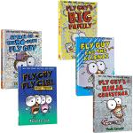 英文原版 苍蝇小子 Fly Guy系列 16-17-18-19 精装 4册 Big Family/Ninja Chri