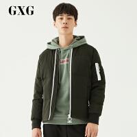 【新款】GXG男�b�n版�r尚潮流都市休�e修身舒�m�����G羽�q服