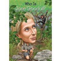 【现货】英文原版 Who Is Jane Goodall? 珍妮・古道尔是谁? 名人传记 中小学生读物