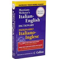 [现货]英文原版 韦氏意大利字典 M-W's Italian English Dictionary