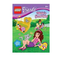 英文原版 Lego Friends Olivia's Great Idea 乐高好朋友女孩系列 附赠乐高积木