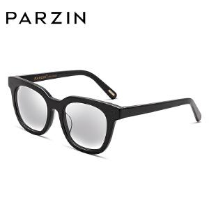 帕森太阳镜 男女时尚浅色镜片复古大框潮墨镜驾驶镜 9651
