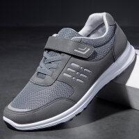 老北京布鞋男爸爸鞋中老年人运动鞋滑软底健步休闲父亲鞋