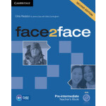 【预订】Face2face Pre-Intermediate Teacher's Book with DVD 9781