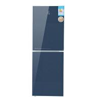 小鸭BCD-160L魅力蓝纯铜管 玻璃面板160升