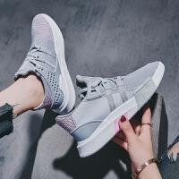 运动鞋女韩版原宿ulzzang百搭新款火焰鞋透气跑步夏网红单鞋