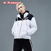 Kappa卡帕 女款羽绒服防寒服短款保暖外套 2019新款K0962YY79D