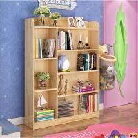 实木书架储物架儿童书架书柜单个书架原木书架学生书柜