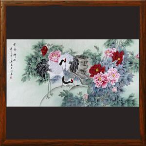 《富贵神仙》于玉江 国家一级美术师ML3857EOO