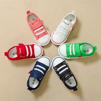 儿童帆布鞋男女童鞋布鞋休闲板鞋