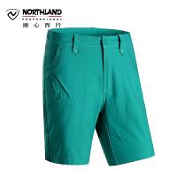 诺诗兰春夏户外沙滩裤经典剪裁女士舒适柔软短裤 GL052284