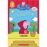 【预订】The School Play [With Stickers] 9781338210279