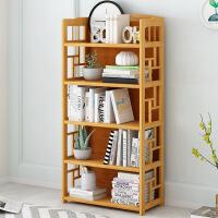 幽咸家居 儿童书架置物架简易书柜桌上书架简约落地学生用楠竹小书架省空间