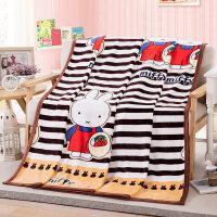 毛毯夏季空调毯加厚单人双人学生宿舍毯子办公室午睡毯盖毯床单被