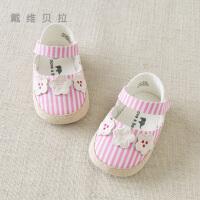 davebella戴维贝拉2020春装新款女宝宝婴幼儿软底步前鞋子DB12848