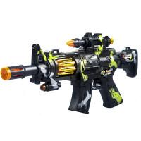 儿童电动玩具枪 男孩子发声光音乐震动宝宝小孩冲锋抢2-3-4-5-6岁 官方标配