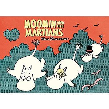 【预订】Moomin and the Martians 美国库房发货,通常付款后3-5周到货!