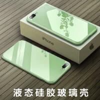 苹果8plus手机壳X镜面iPhone11液态玻璃7p变8P男女款6s超薄6splus马卡龙XR外壳XS潮牌i7网红七抹