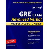 [现货]Kaplan GRE Exam Advanced Verbal: Your Only Guide to an