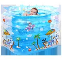 加厚婴儿童游泳池宝宝戏水池浴缸大号家庭充气游泳池