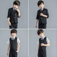 男童礼服韩版休闲中大童演出花童小西服外套礼服童装儿童西装套装
