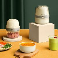 金正D1无线绞肉机家用电动小型多功能搅肉搅拌机婴儿辅食料理机