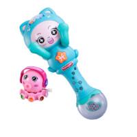 婴儿手摇铃宝宝玩具音乐节奏棒0-3-6-12个月新生儿0-1岁