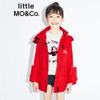 littlemoco秋季女童外套撞色拼接男童秋装2019新款洋气儿童外套