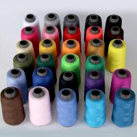 5个装缝纫线缝衣线缝纫机线涤纶针线彩色白宝塔线402家用手缝线