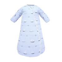 婴儿睡袋春秋薄款宝宝夏季纱布小孩幼儿童防踢被神器四季通用