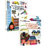 英文原版 The Ultimate Book系列6册 Construction Space 科普百科翻翻书 STEM科