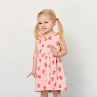 女童裙子夏儿童连衣裙婴儿夏装公主女宝宝吊带裙