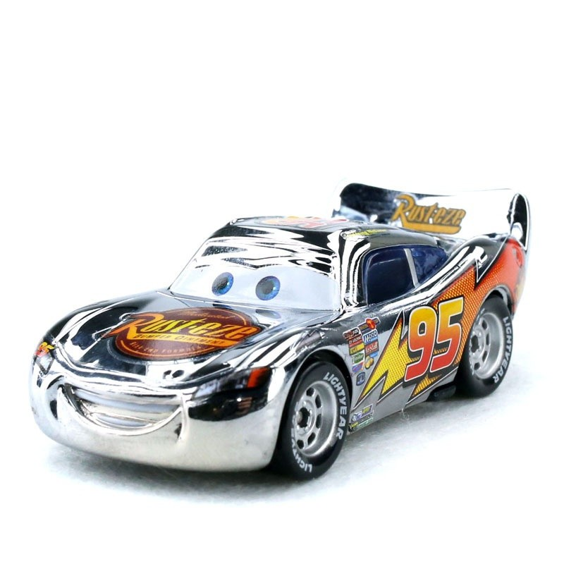 汽车赛车总动员闪电麦昆稀有版本组合套装合金小汽车模型
