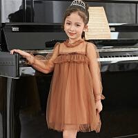 女童洋气连衣裙春装儿童夏装公主裙小女孩纱裙子童装潮