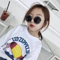 儿童太阳镜女潮流学生舒适小孩防紫外线酷个性潮韩版儿童眼镜墨镜