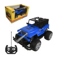 可充电遥控车jeep越野车小型跑车男孩子赛车儿童电动汽车玩具