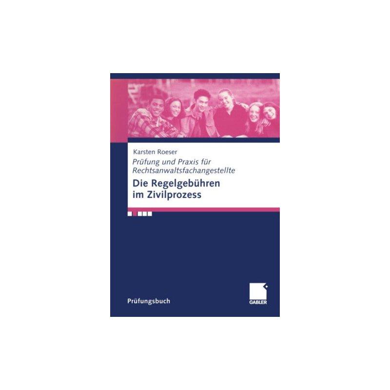 【预订】Die Regelgebuhren Im Zivilprozess 美国库房发货,通常付款后3-5周到货!