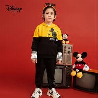 超品返�觥�4折�A估�r:96.9元】迪士尼男童��套�b2020春秋新款�����和�米奇童�b上衣�子�杉�套