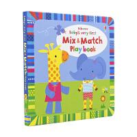 【首页抢券300-100】Baby's Very First Mix and Match Playbook 幼儿宝宝早教