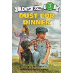 英文原版 Dust for Dinner I can read L3 儿童绘本分级读物