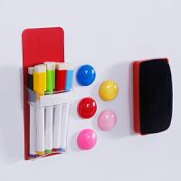 办公教学多功能磁性笔袋笔盒磁性贴冰箱贴玩具男女磁性收纳袋