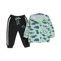 男童春装套装婴儿两件套儿童春秋两岁男宝宝衣服