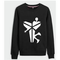 韩版个性运动套头外套大码潮流衣服新款休闲男士黑曼巴篮球卫衣男