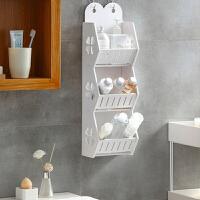 浴室置物架 免打孔厕所洗漱台卫浴卫生间壁挂式分层收纳架宿舍神器